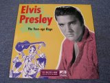 "ELVIS PRESLEY - THE TEEN-AGE RAGS ( YELLOW COVER ) / REPRO? 10"" LP"