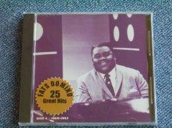 画像1: FATS DOMINO - LEGENDARY IMPERIAL RECORDINGS DISC 4 / 1991 US SEALED NEW CD