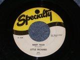 "LITTLE RICHARD - BABY FACE ( Ex/Ex ) / 1958 US ORIGINAL 7""SINGLE"