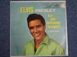 画像1: ELVIS PRESLEY - ARE YOU LONESOME TO-NIGHT? / 1961 US ORIGINAL SINGLE W/PS