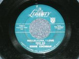 "EDDIE COCHRAN - HALLELUJAH,I LOVE HER SO / 1959 US ORIGINAL 7"" Single"