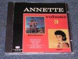 ANNETTE - VOL.3 ( MUSCLE BEACH PARTY + ANNETTE ) / ORIGINAL ALBUM 2 in 1 ) / 1991 US BRAND NEW CD