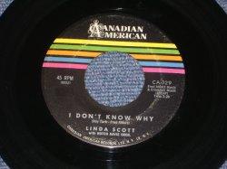 """画像1: LINDA SCOTT - I DON'T KNOW WHY ( 3rd Single ) / 1961 US ORIGINAL 7"""" SINGLE"""