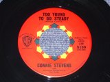 "CONNIE STEVENS - TOO YOUNG TO GO STEADY / 1960 US ORIGINAL 7"" Single"