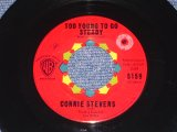 "CONNIE STEVENS - TOO YOUNG TO GO STEADY ( LARGE LOGO ) / 1960 US ORIGINAL 7"" SINGLE"