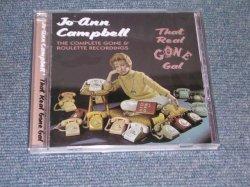 画像1: JO-ANN CAMPBELL - THE COMPLETE GONE & ROULETTE RECORDINGS THAT REAL GONE GAL / 1997 UK SEALED CD
