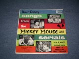 v.a. 0MNIBUS ( ANNETTE & OTHERS ) - WALT DISNEY SONGS FROM THE MICKEY MOUSE CLUB SERIALS / 1962 US ORIGINAL MONO LP