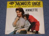 "ANNETTE With THE BEACH BOYS - MONKEYS UNCLE / 1965 US ORIGINAL With PICTURE SLEEVE 7"" SINGLE"