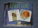 LESLEY GORE - I'll CRY IF I WANT TO + SINGS OF MIXED UP HEARTS + Bonus Tracks / 2000 UK Brand New SEALED CD