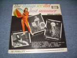 SHELLEY FABARES - THE THINGS WE DID LAST SUMMER / 1962 US ORIGINAL MONO LP
