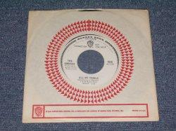 """画像1: THE COOKIES - ALL MY TRAILS / 1967 US ORIGINAL White Label Promo 7"""" SINGLE With COMPANY SLEEVE"""