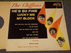 画像1: THE CHIFFONS - HE'S SO FINE / 1963 US ORIGINAL MONO LP