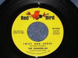 """画像1: THE SHANGRI-LAS - TWIST $ SHOUT / 1964 US ORIGINAL 7"""" Single"""
