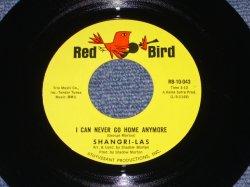 """画像1: THE SHANGRI-LAS - I CAN NEVER GO HOME ANYMORE / 1965 US ORIGINAL 7"""" Single"""