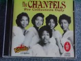 THE CHANTELS - FOR COLLECTORS ONLY / 1992 US ORIGINAL Brand New Sealed 2CD out-of-print now