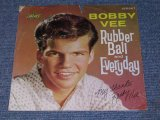 "BOBBY VEE - RUBBER BALL / 1960 US Original 7"" Single With PICTURE SLEEVE"