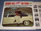 BOBBY VEE - LIVE! ON TOUR / 1965 MONO US ORIGINAL LP