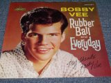 "BOBBY VEE - RUBBER BALL / 1960 US ORIGINAL 7""SINGLE With PICTURE SLEEVE"