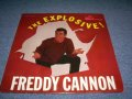 FREDDY CANNON - THE EXPLOSIVE!(1st DEBUT ALBUM : Ex++/Ex+++ ) / 1960 MONO US ORIGINAL LP
