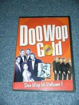VA OMNIBUS - DOO WOP GOLD : DOO WOP 50 Volume 1 / 2002 US ORIGINAL Brand New SEALED DVD ( PAL SYSTEM )