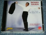 BOBBY DARIN - DON'T DREAM OF ANYBODY BUT ME : THE FIRST THREE ALBUMS PLUS BONUS SINGLES / 2011 UK/CZECH REPUBLIC BRAND NEW Sealed 2 CD