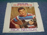 "RICKY NELSON - TEENAGE IDOL/ 1958 US ORIGINAL 7""SINGLE With PICTURE SLEEVE"