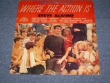 STEVE ALAIMO - WHERE THE ACTION IS / 1965 US ORIGINAL Promo MONO LP