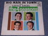 "THE 4 FOUR SEASONS - BIG MAN IN TOWN / 1964 US ORIGINAL 7"" Single With PICTURE SLEEVE"