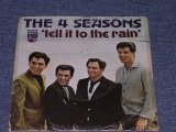 "THE 4 FOUR SEASONS - 'TILL IT TO THE RAIN / 1966 US ORIGINAL 7"" Single With PICTURE SLEEVE"