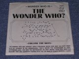 "THE WONDER WHO? ( THE 4 FOUR SEASONS ) - DON'T THIN K TWICE / 1965 US ORIGINAL White Label Promo 7"" Single With PICTURE SLEEVE"