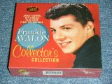 FRANKIE AVALON - COLLECTOR'S COLLECTION : EARLY ALBUMS, HIT SINGLES Plus RARE FIRST RECORDINGS / 2010 EU? Brand New SEALED 3CD'S SET