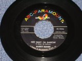 "BARRY MANN - HEY BABY I'M DANCIN' / 1962 US ORIGINAL 7"" SINGLE"