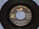 "BARRY MANN - HEY BABY I'M DANCIN' ( Ex+/Ex+ ) / 1962 US ORIGINAL 7"" SINGLE"