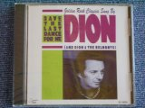 DION & THE BELMONTS - SAVE THE LAST DANCE FOR ME / 1993 US Brand New SEALED CD