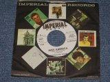 """DANTE & His FRIENDS - MISS AMERICA / 1962 US ORIGINAL White Label Promo 7"""" SINGLE"""
