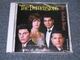 THE DEMENSIONS - MY FOOLISH HEART HITS & RARETIDS / 1991 CZECHOSLOVAKIA Brand New SEALED CD