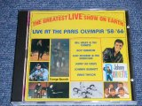v.a. OMNIBUS (SHADOWS,CLIFF RICHARD,BILL HALEY,ROY ORBISON,JERRY LEE LEWIS,VINCE TAYLOR,JOHNNY BURNETTE ) - THE GREATEST LIVE SHOW OMN EARTH LIVE AT PARIS OLYMPIA '58-'66 / EU ORIGINAL Brand New CD