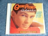 GENE PITNEY - IT HURT TO BE IN LOVE & LOOKING THROUGH THE EYES OF LOVE  ( 2 in 1 ) / 1995 GERMAN  BRAND NEW CD