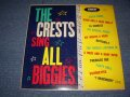 "THE CRESTS - SING ALL BIGGIES ( Ex+/Ex++ ) / 1960 US ORIGINAL Rare! ""YELLOW LABEL With BLACK PRINT""  MONO Used LP"