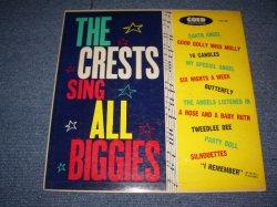 """画像1: THE CRESTS - SING ALL BIGGIES ( Ex+/Ex++ ) / 1960 US ORIGINAL Rare! """"YELLOW LABEL With BLACK PRINT""""  MONO Used LP"""