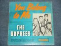 THE DUPREES - YOU BELONG TO ME / 1962 CANADA ORIGINAL Mono LP