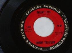 """画像1: JOHNNY TILLOTSON - DREAM EYES / 1961 US ORIGINAL 7""""SINGLE"""