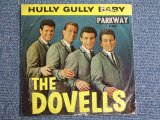"THE DOVELLS - HULLY GULLY BABY / 1962 US ORIGINAL 7""SINGLE With PICTURE SLEEVE"