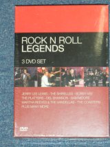 v.a. OMNIBUS - ROCK 'N' ROLL LEGENDS ; / US PAL System Brand New Sealed 3 DVD's BOX SET