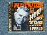 WAYNE WALKER - HOW DO YOU THINK I FEEL? THE SINGER & HIS SONGS / 2009 SPAIN ORIGINAL Brand New CD