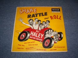 "画像1: BILL HALEY and His COMETS - SHAKE RATTLE AND ROLL / 1955 US ORIGINAL 10""LP"