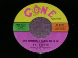 """RAL DONNER - SHE'S EVERYTHING ( SMALL LOGO LABEL ) / 1961 US ORIGINAL 7""""SINGLE"""