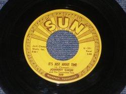 """画像1: JOHNNY CASH - IT'S JUST ABOUT TIME / 1958 US ORIGINAL 7"""" Single"""