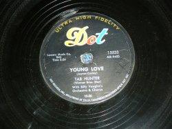 画像1: TAB HUNTER - YOUNG LOVE  / 1957 US ORIGINAL 78rpm SP