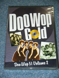 画像1:  VA OMNIBUS - DOO WOP GOLD : DOO WOP 51 Volume 2 / 2002 US ORIGINAL Brand New SEALED DVD  ( PAL SYSTEM )